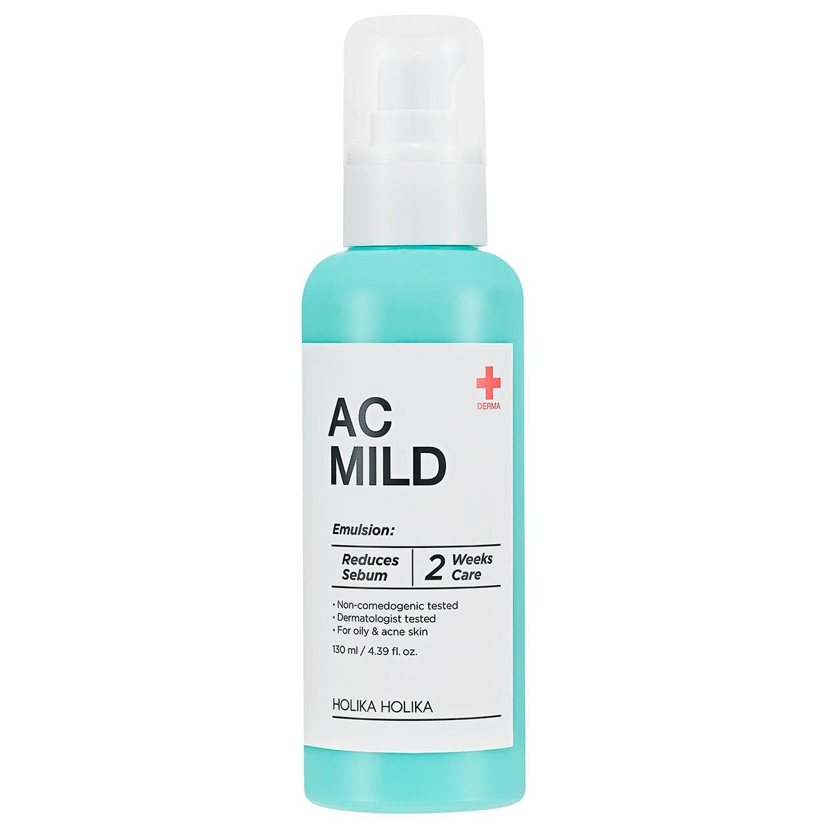 AC MILD Emulsion 130 ml Holika Holika Steg 9: Ansiktskräm