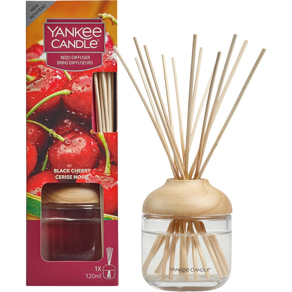 Reed Diffuser – Black Cherry Yankee Candle Doftljus