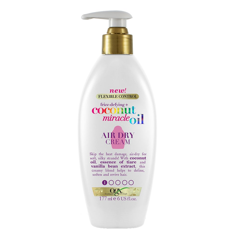 Coconut Miracle Oil Air Dry Cream 177 ml OGX Värmeskydd