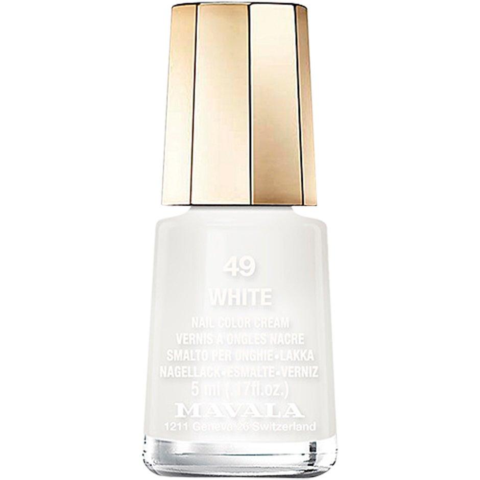 Mavala Nail Color Cream 49 White 5 ml Mavala Alla färger