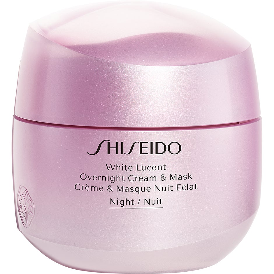 Shiseido White Lucent Overnight Cream & Mask 75 ml Shiseido Nattkräm