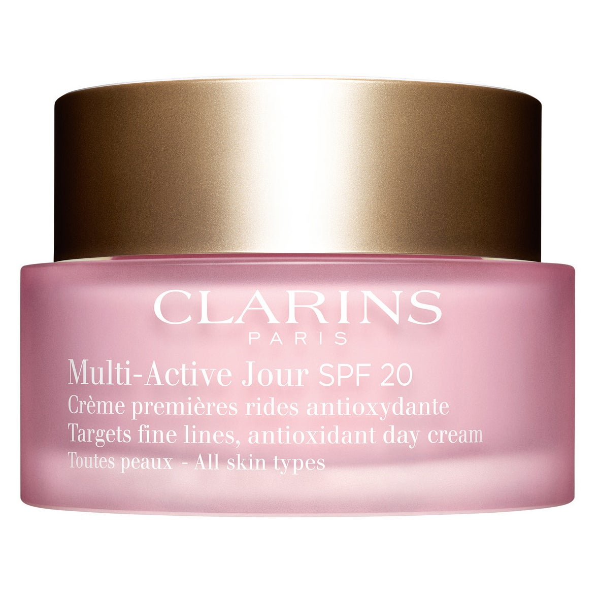 Multi-Active Jour SPF 20 for All Skin Types 50 ml Clarins Dagkräm