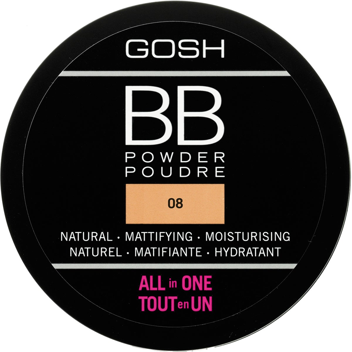 GOSH Copenhagen BB Powder All In One