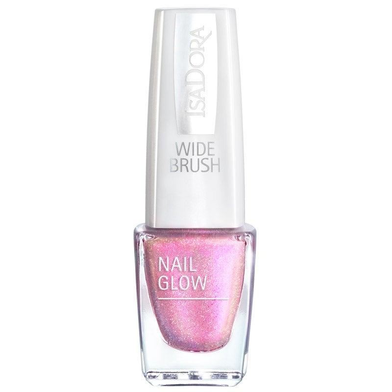 Nail Glow Pink Glow 6 ml IsaDora Rosa & Röd