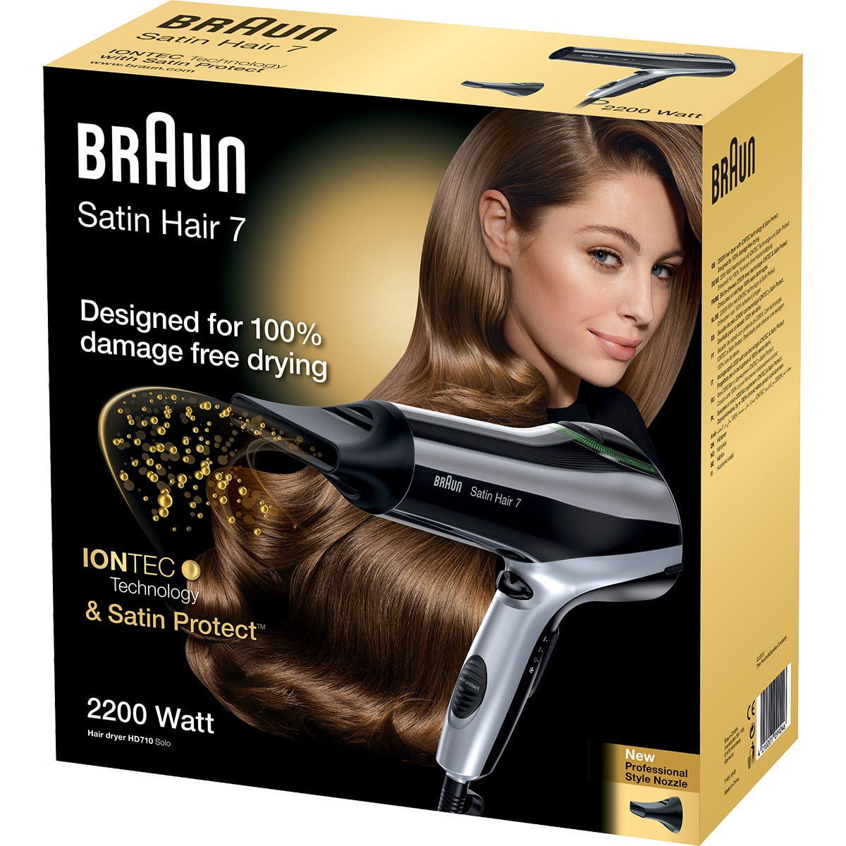 Braun Satin Hair 7 Hairdryer HD710 Solo