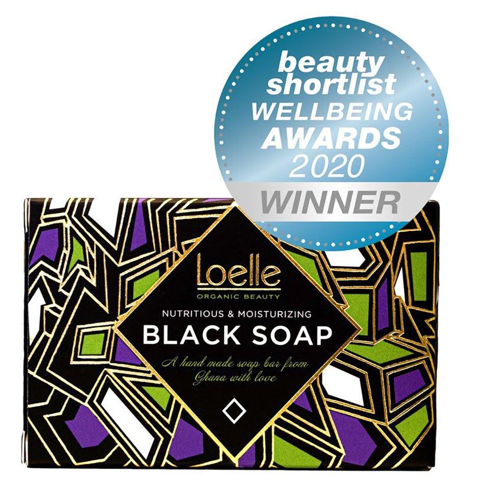 African Black Soap 125 g Loelle Tvål