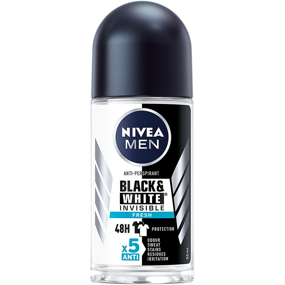 MEN Invisible Black & White 50 ml Nivea Herrdeodorant