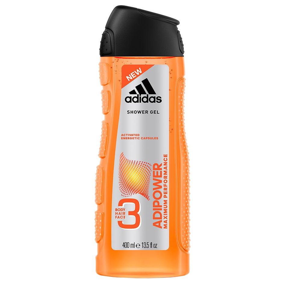 Adipower Shower Gel, 400 ml Adidas Dusch & Bad för män