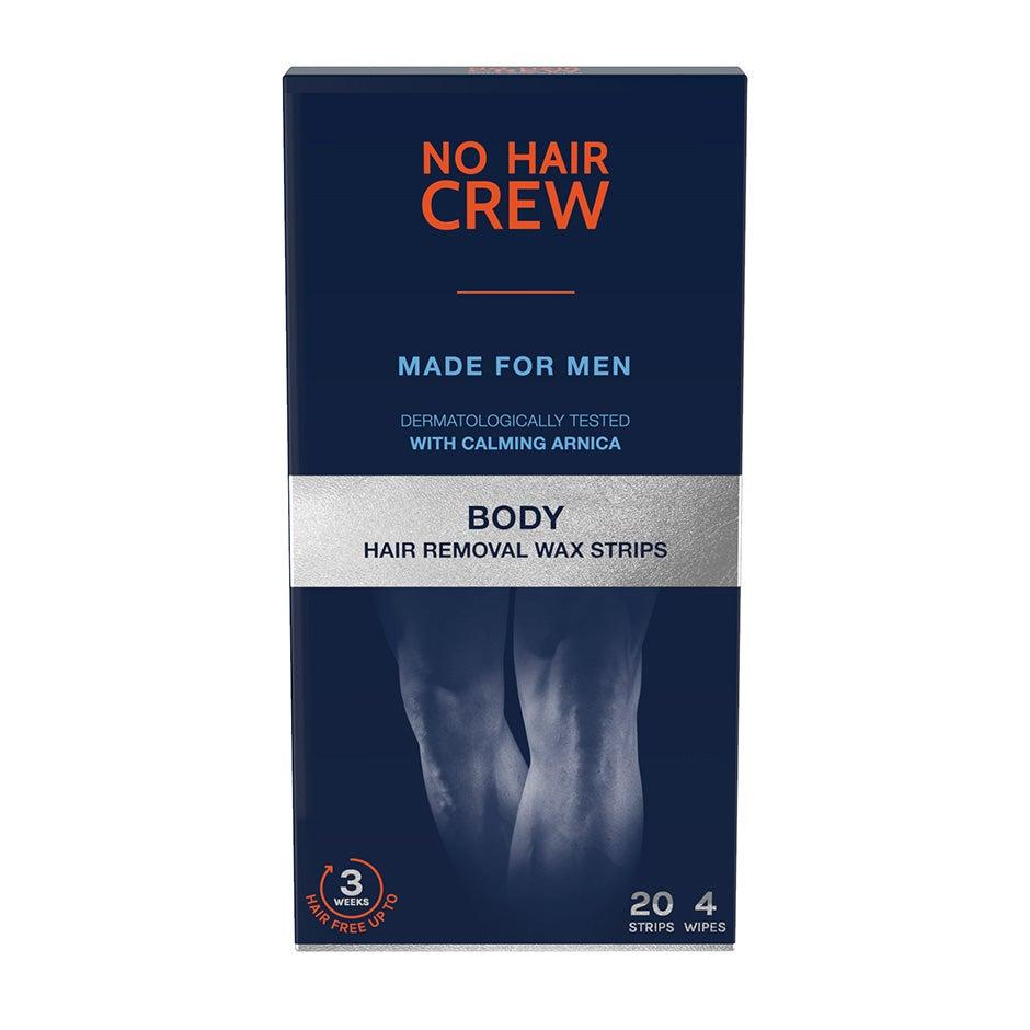 Body Hair Removal Wax Strips No Hair Crew Hårborttagning