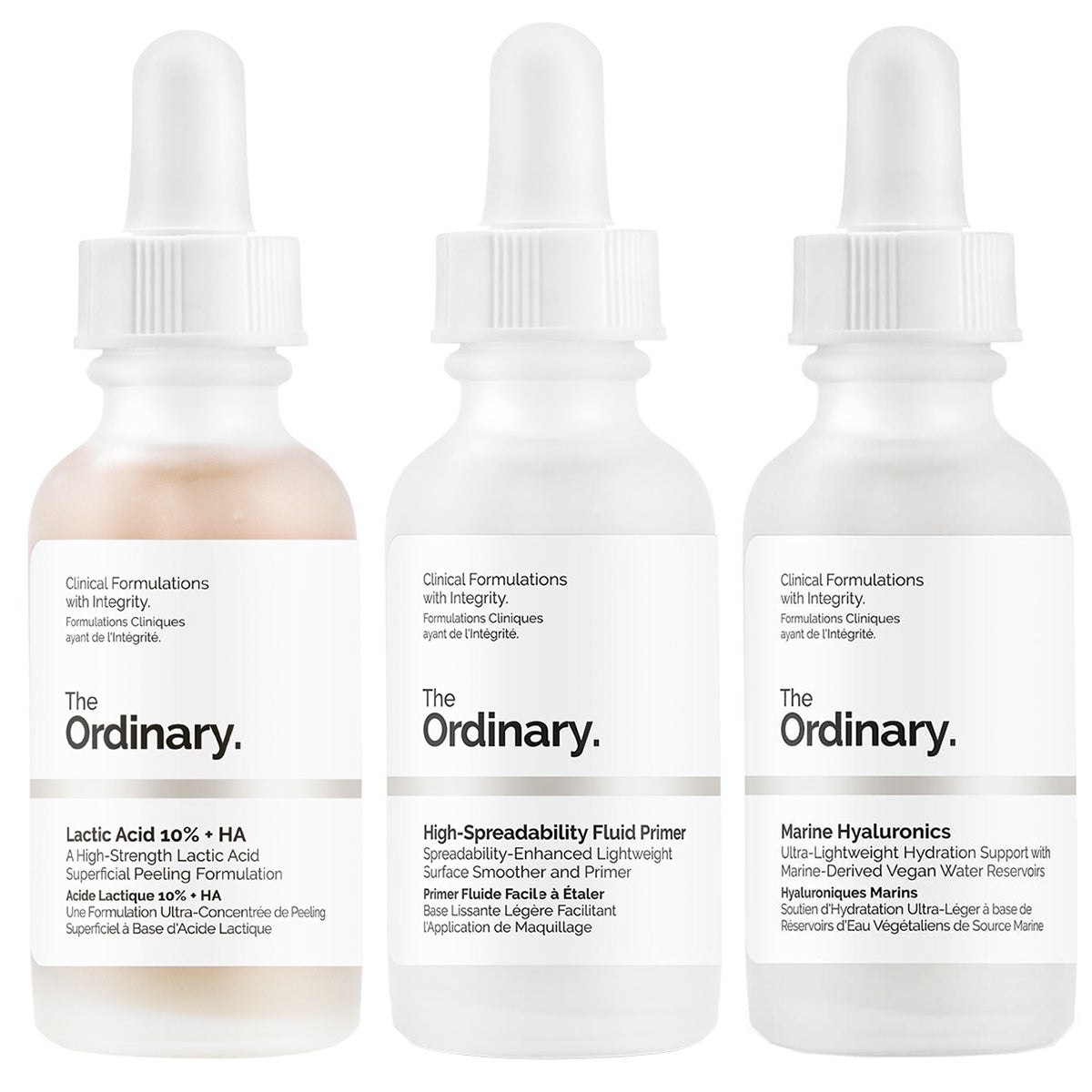 The Ordinary. The Ordinary Set of Actives - Starter Kit For All Skintypes