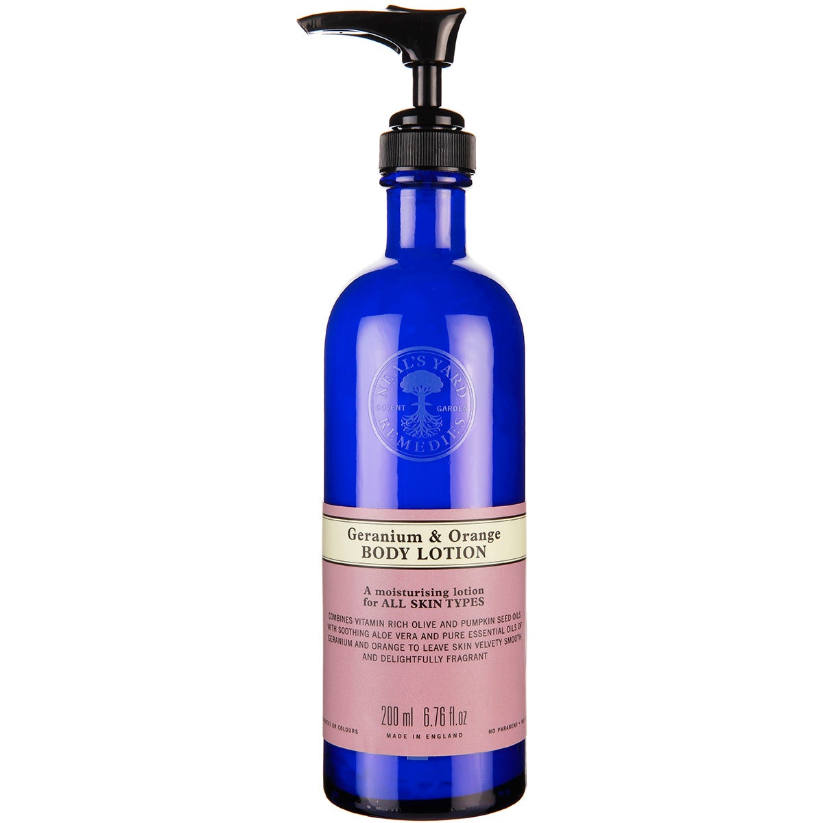Neal's Yard Remedies Geranium & Orange Body Lotion
