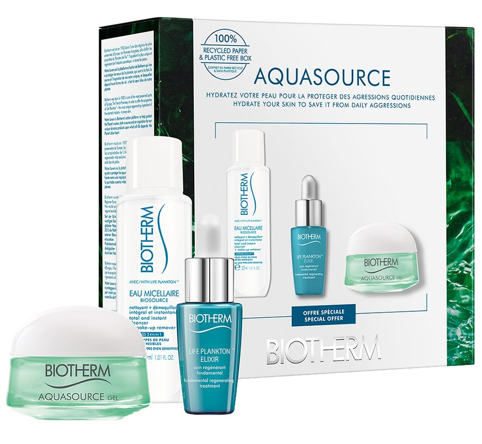 Aquasource Normal Skin Starter Set Biotherm Dagkräm