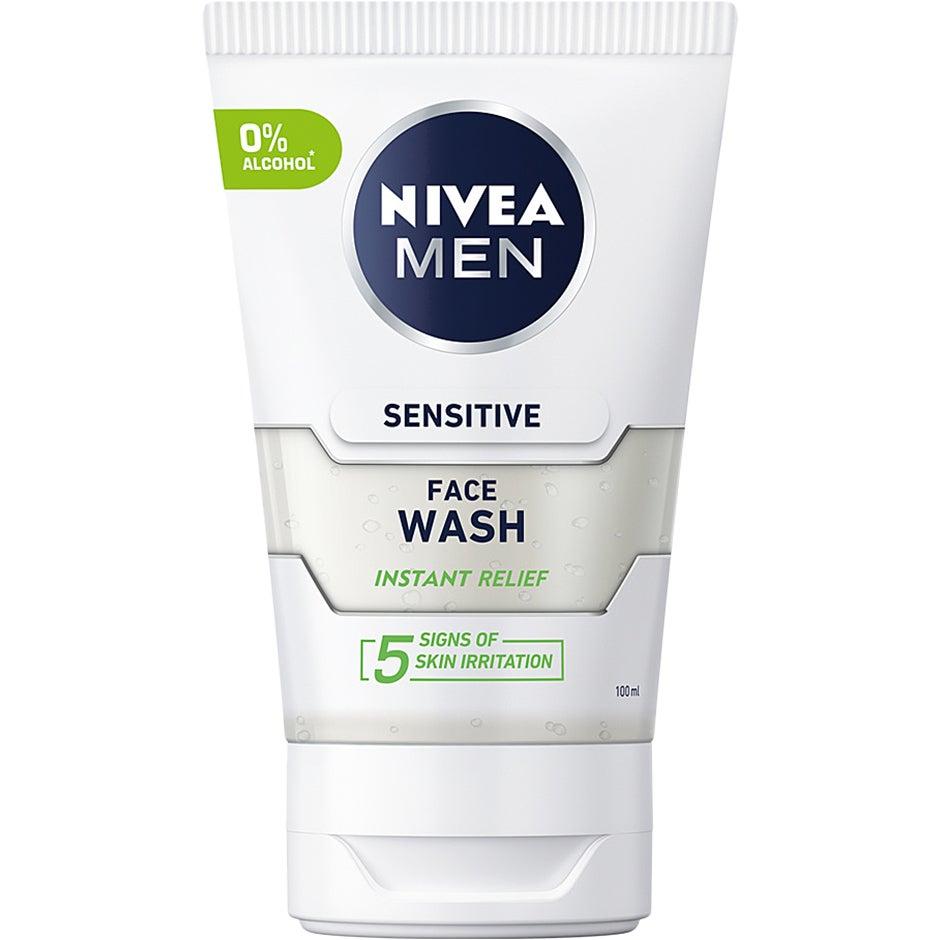 MEN Sensitive 100 ml Nivea Ansiktsrengöring
