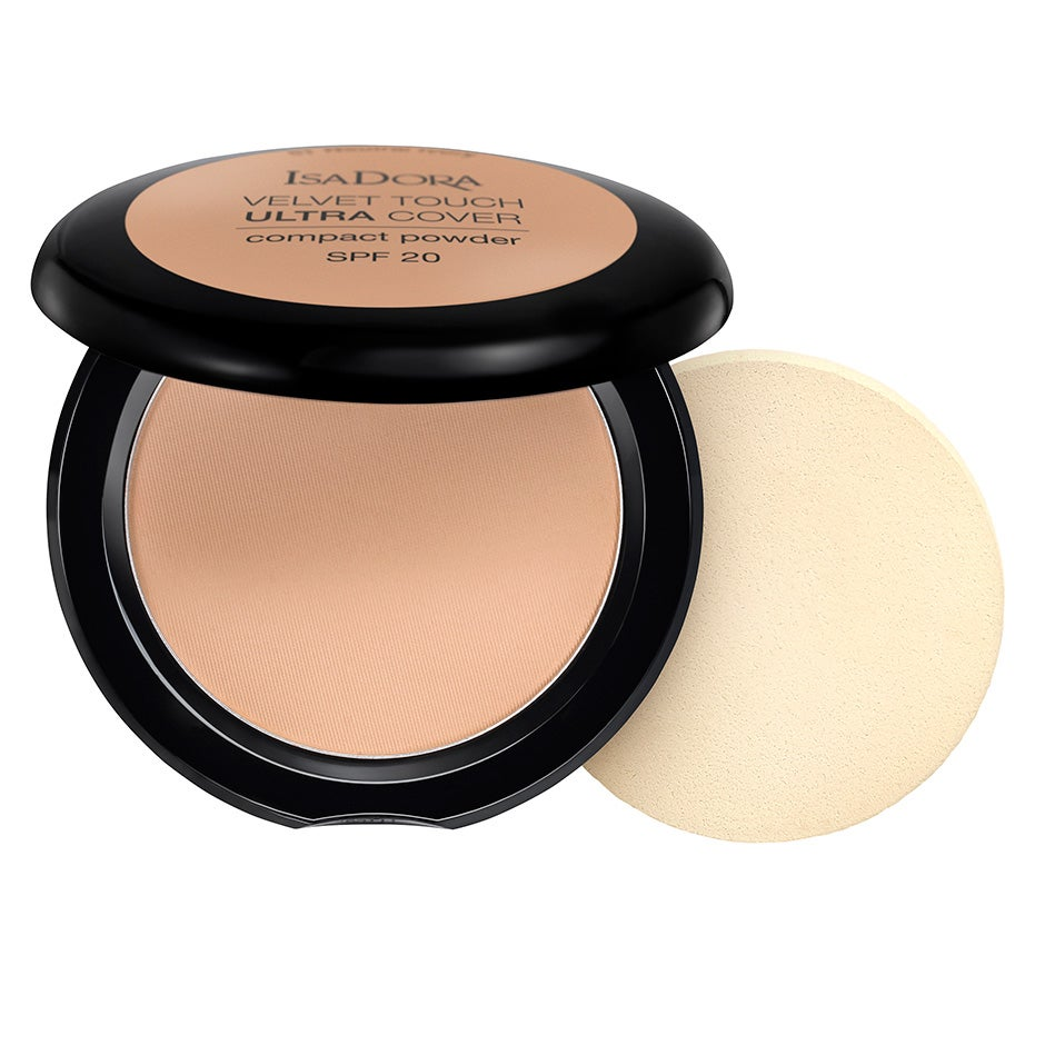 Velvet Touch Ultra Cover Compact Powder SPF20 7.5 g IsaDora Puder