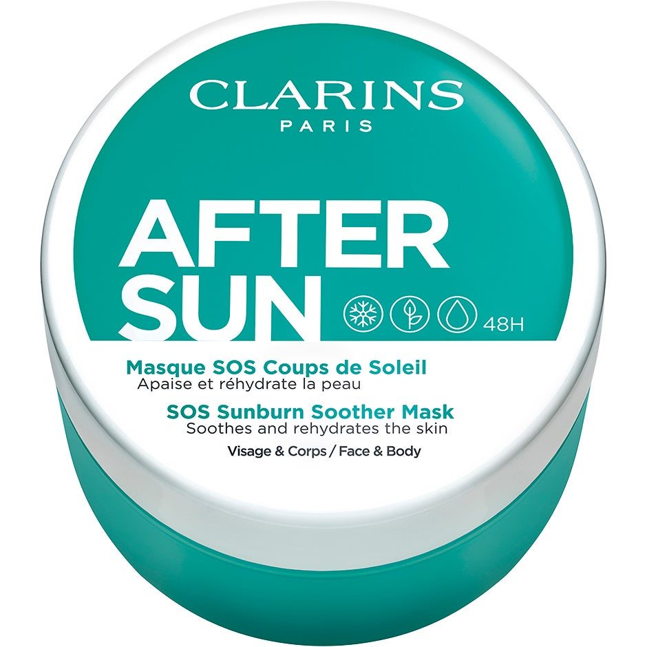 After Sun Sos Sunburn Soother Mask 100 ml Clarins Aftersun