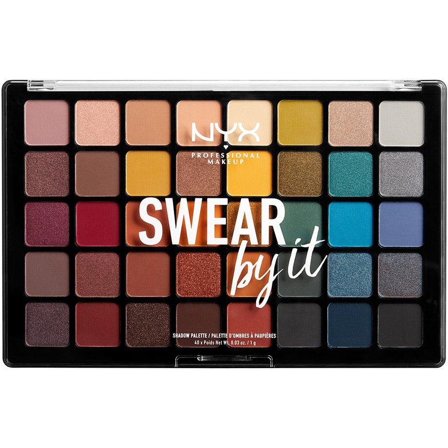 Swear By It Shadow Palette NYX Professional Makeup Ögonpaletter