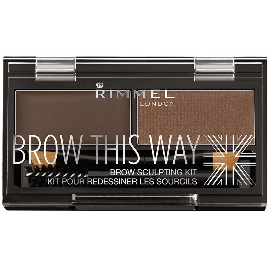 Brow This Way Eyebrow Powder Kit Rimmel London Ögonskugga