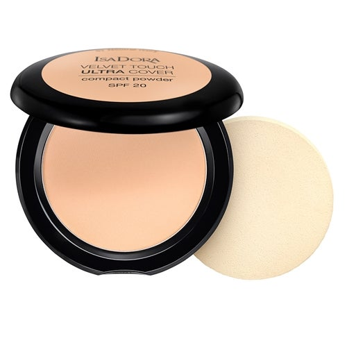 IsaDora Velvet Touch Ultra Cover Compact Powder SPF20