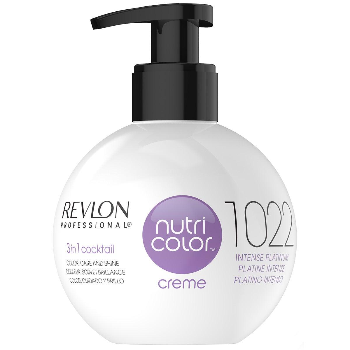 Nutri Color Creme 1022 Intense Platinum 270 ml Revlon Professional Alla hårfärger
