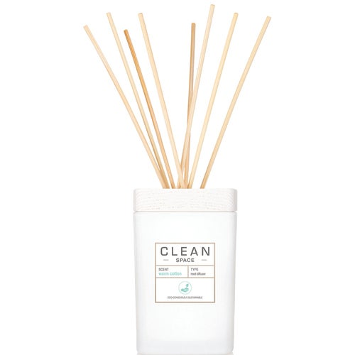 Clean Space Warm Cotton Reed Diffuser