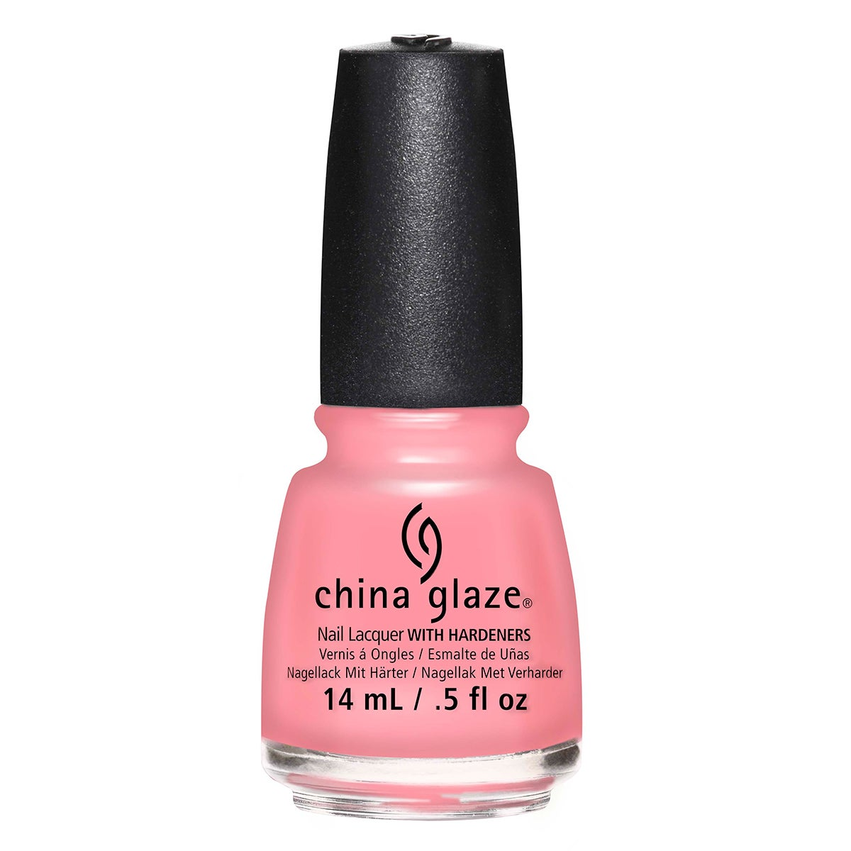 China Glaze Nail Lacquer, Pink or Swim