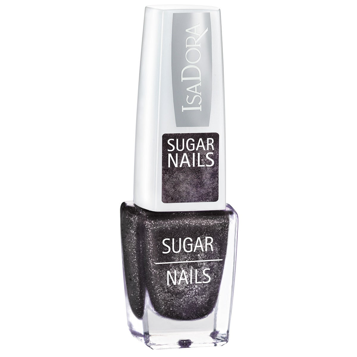 IsaDora Sugar Crush Nails 118 Black Crush 6 ml IsaDora Special Design