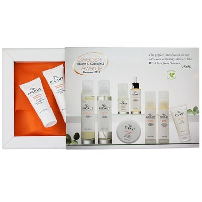 M Picaut Swedish Skincare Try Me Out Kit