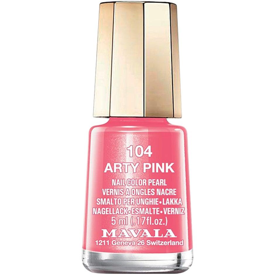 Mavala Nail Color Pearl 104 Arty Pink 5 ml Mavala Alla färger