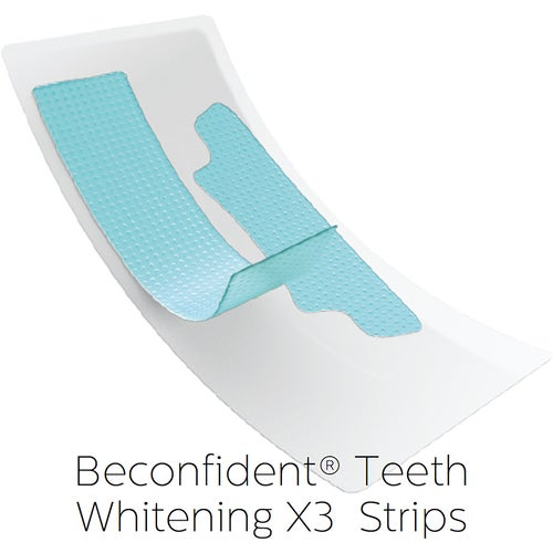 beconfiDent Teeth Whitening X3 Strips