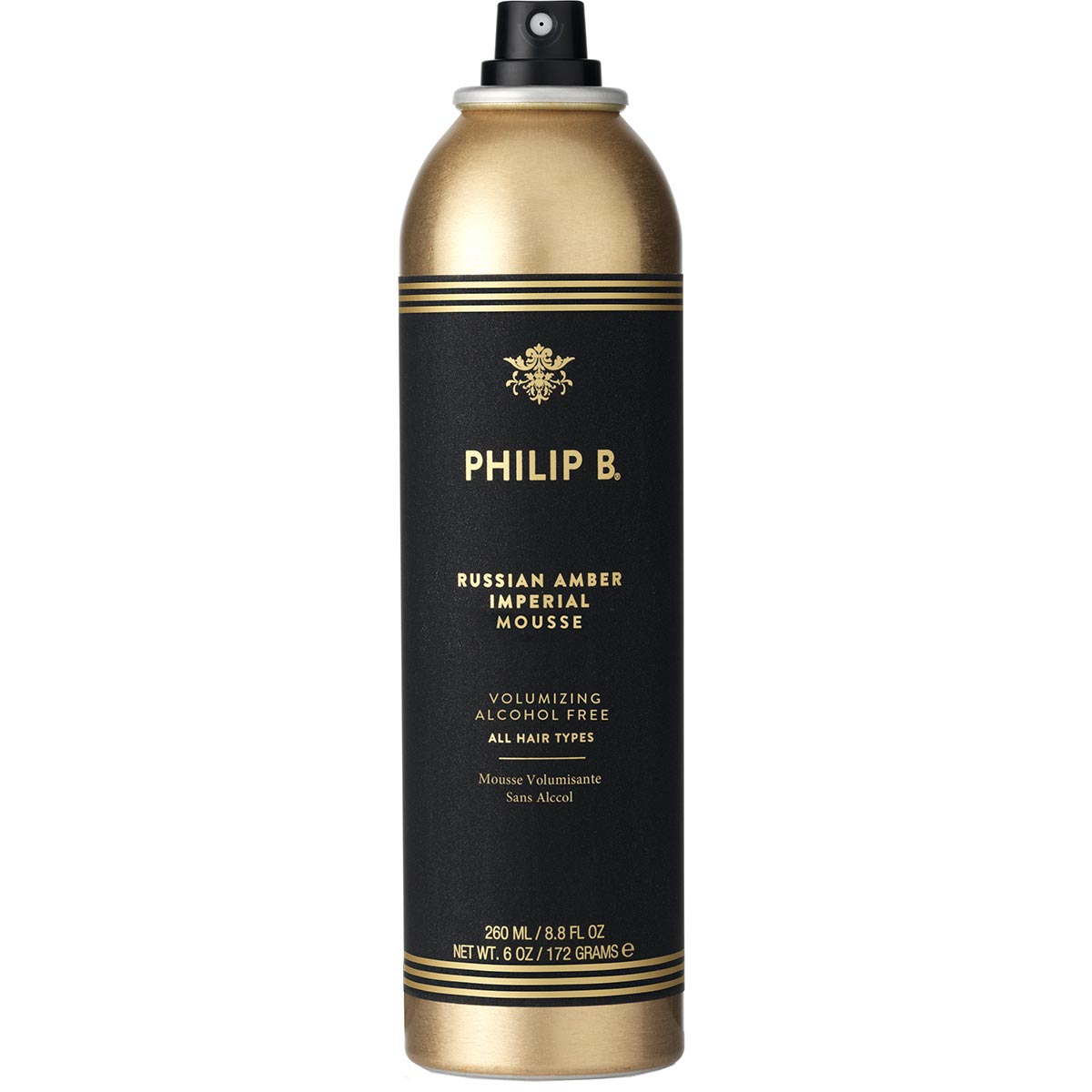 Russian Amber Imperial Dry Shampoo 260 ml Philip B Torrschampo