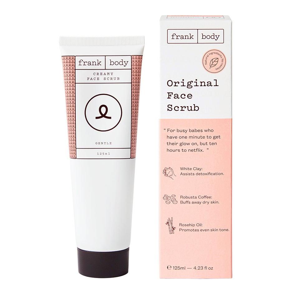 Original Face Scrub 125ml Frank Body Ansiktspeeling