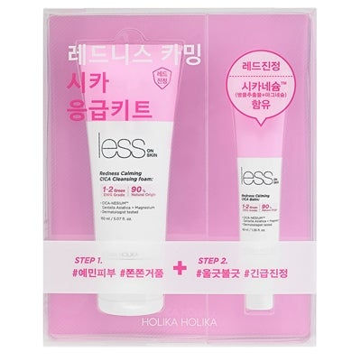 Holika Holika Less On Skin Redness Calming CICA Emergency Kit