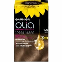 Garnier Olia Permanent Hair Colour, 6.0 Light Brown