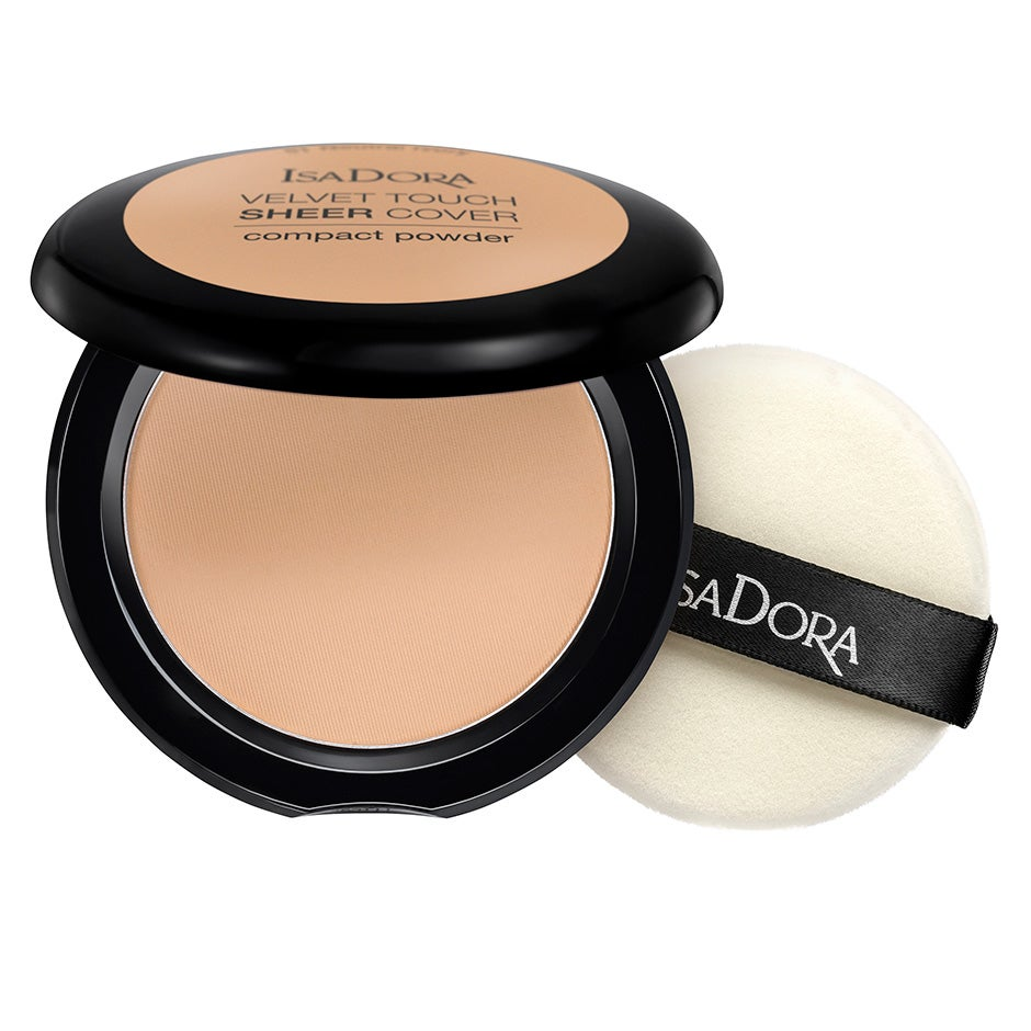 Velvet Touch Sheer Cover Compact Powder SPF20 10 g IsaDora Puder
