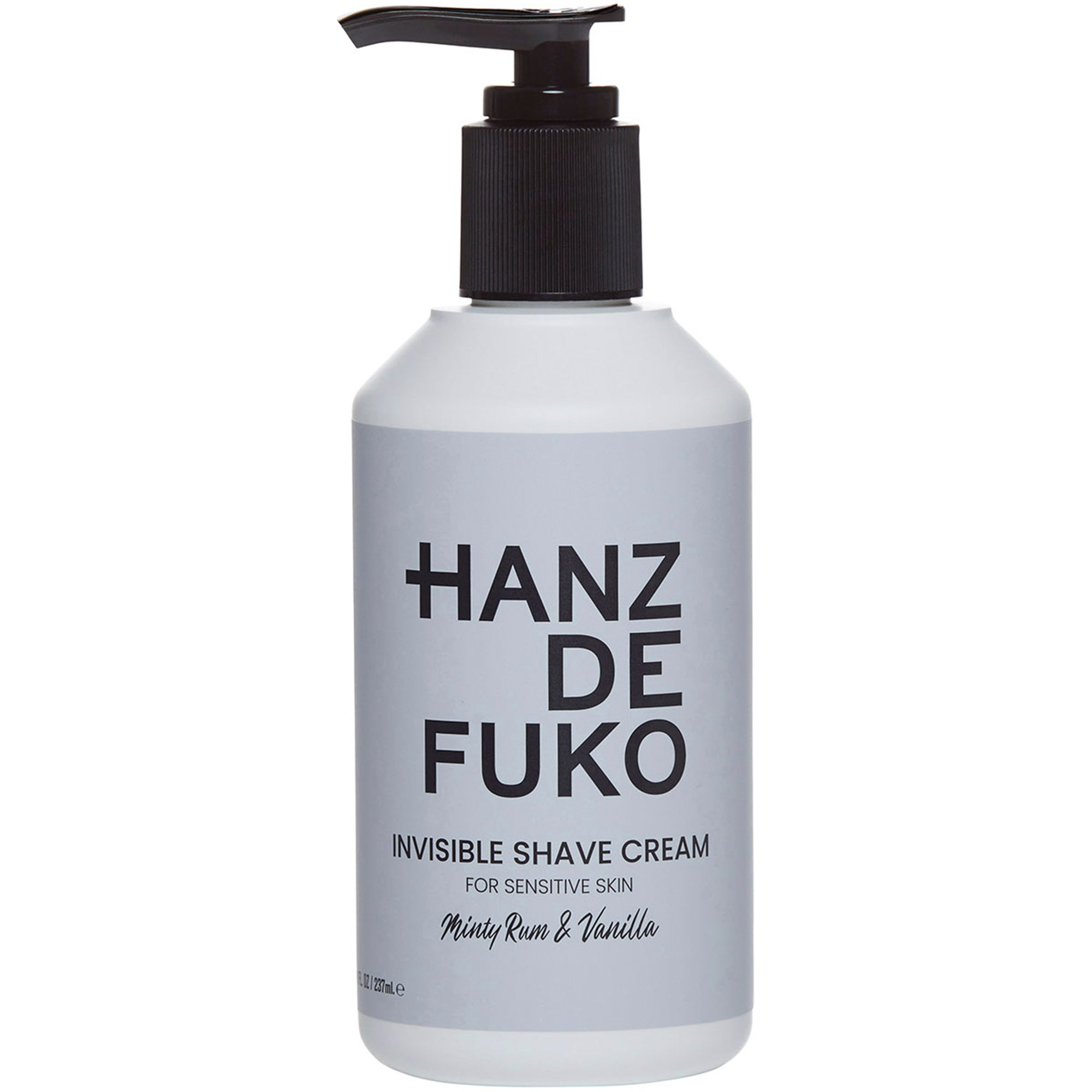 Hanz de Fuko Invisible Shave Cream,  237 ml Hanz de Fuko Under rakning