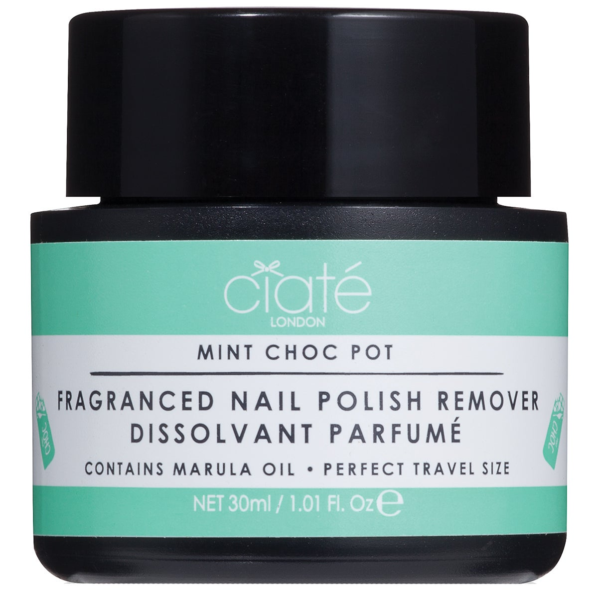 Fragranced Nail Polish Dip-In Remover, Mint Chocolate, 30 ml Ciaté Nagellacksremover