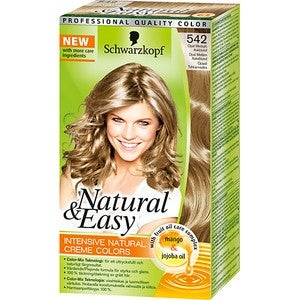 Natural & Easy 542 Opal Medium Askblond Schwarzkopf Hårfärg