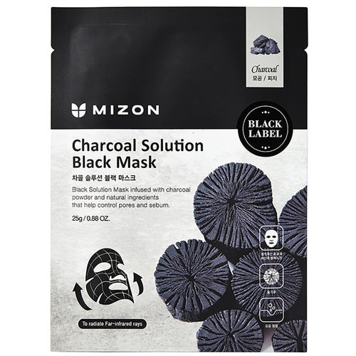 Mizon Charcoal Solution Black Mask