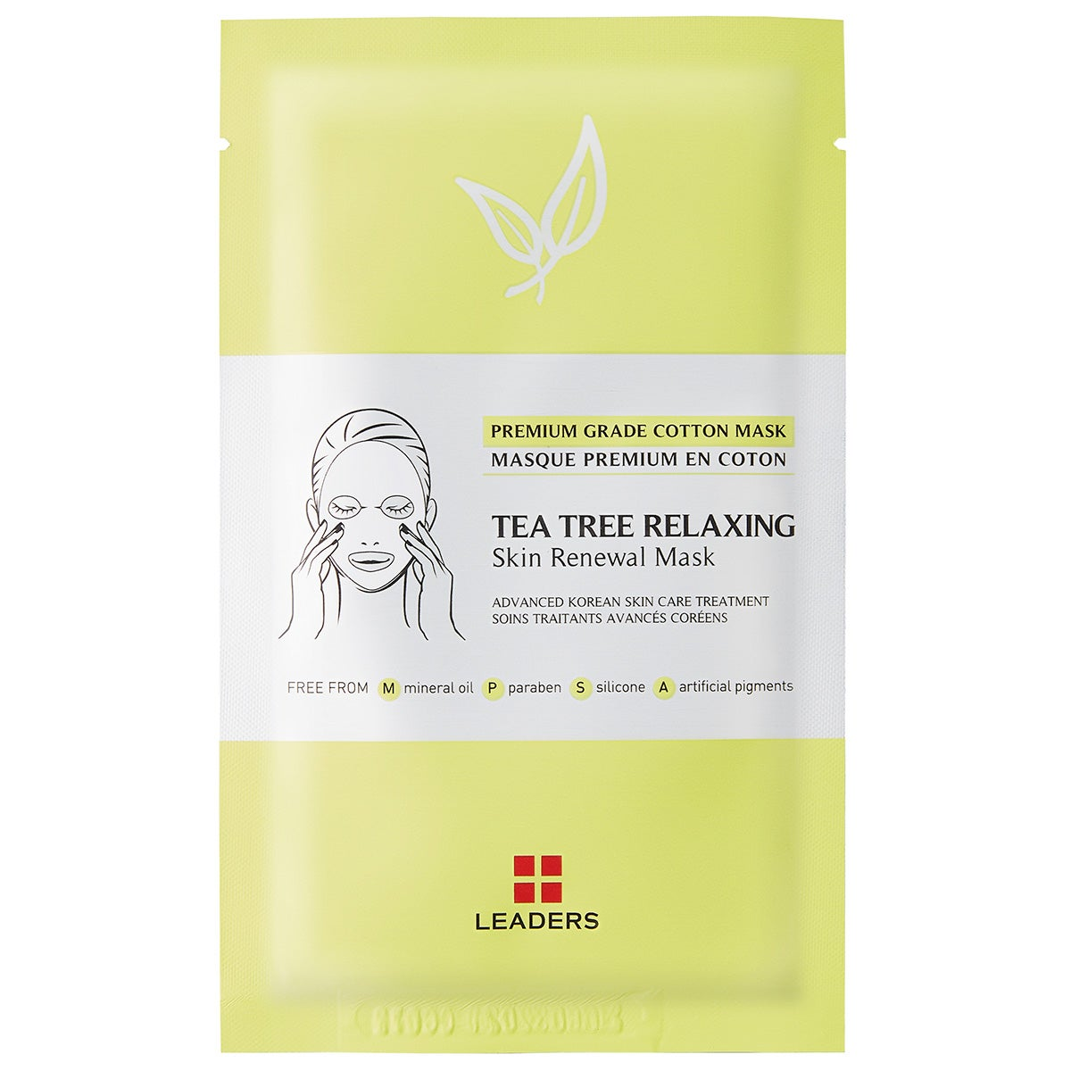Leaders Tea Tree Relaxing Skin Renewal Mask