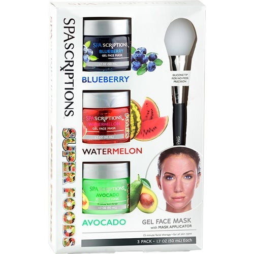 Spascriptions Superfoods Masks Blueberry Watermelon Avocado