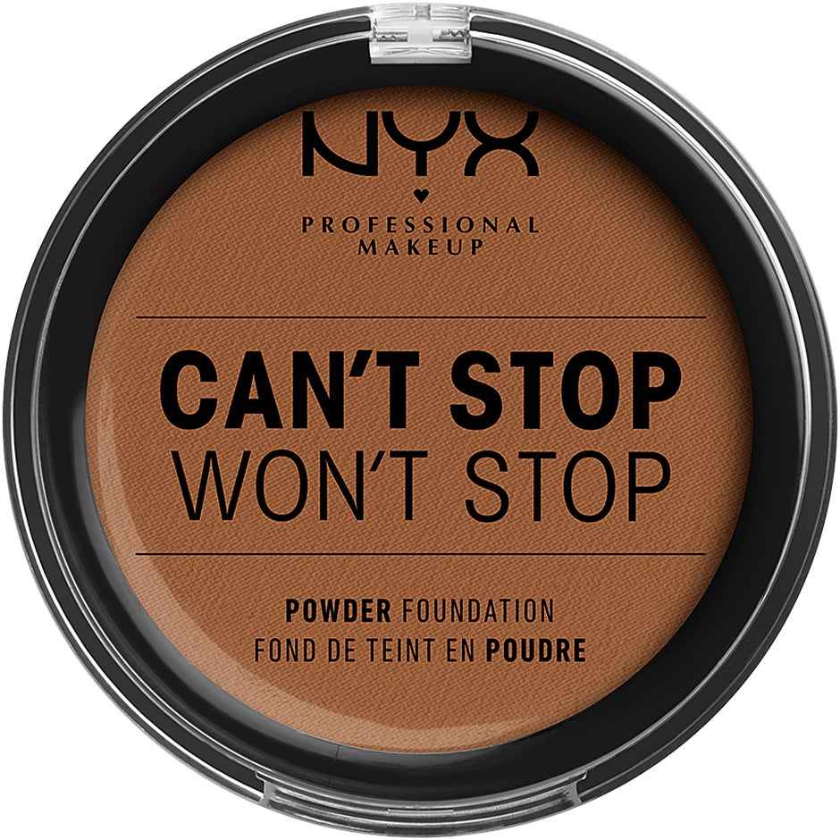 Can't Stop Won't Stop Powder Foundation NYX Professional Makeup Foundation