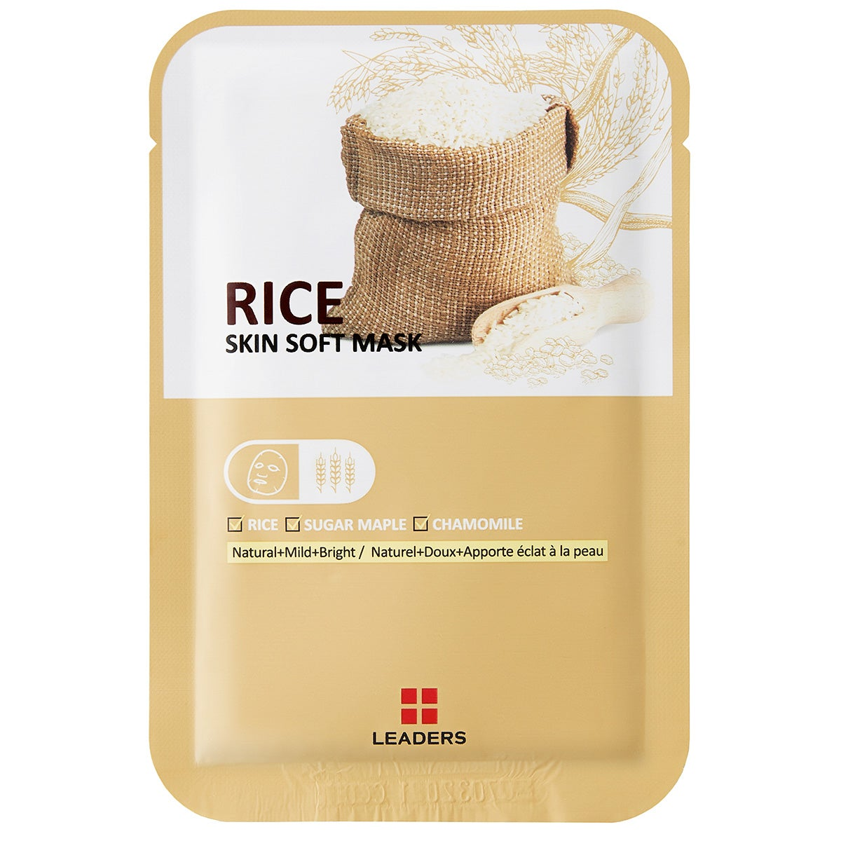 Leaders Labotica Rice Skin Soft Mask