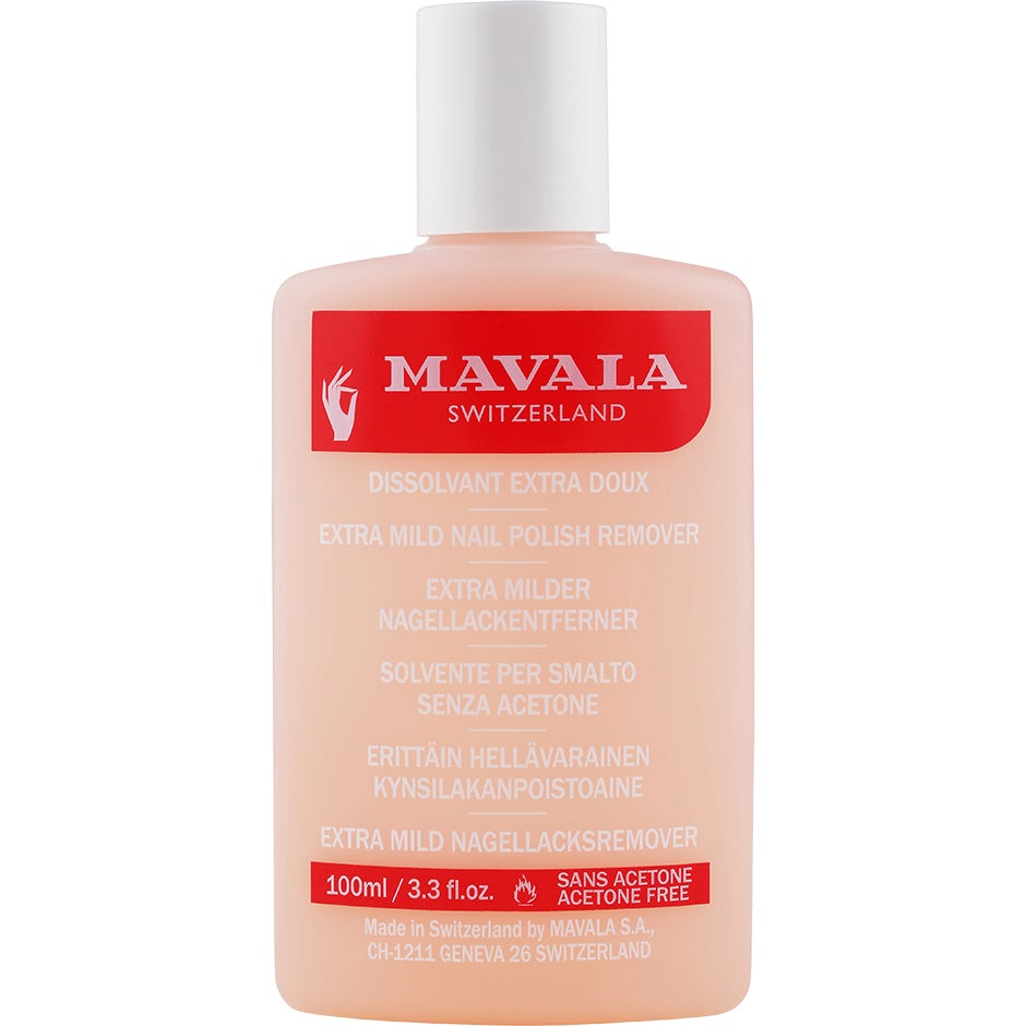 Mavala Extra Mild Nail Polish Remover, 100 ml Mavala Nagellacksremover