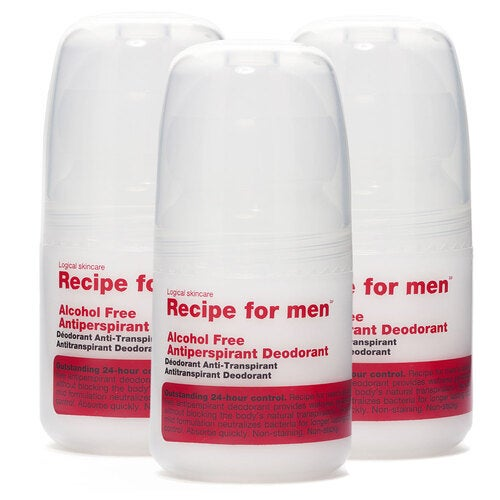 Recipe for men Recipe for Men Antiperspirant Deodorant Trio