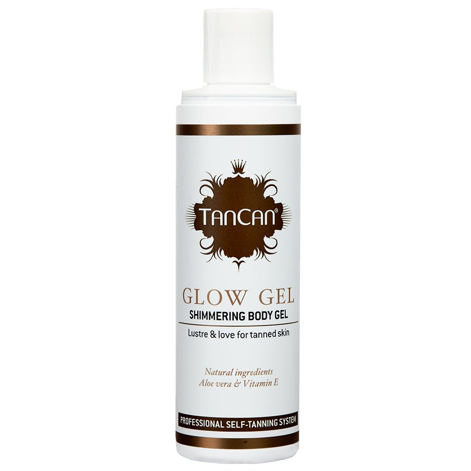 Glow Gel – Shimmering Gel TanCan Brun Utan Sol