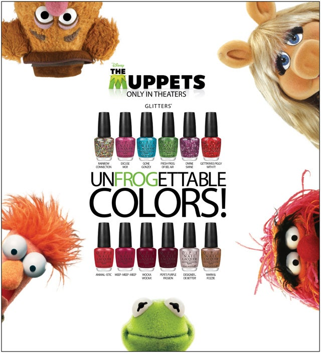 OPI The Muppets