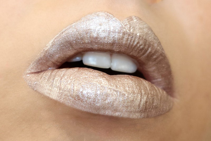 Lip Gunk Metallic Titanium