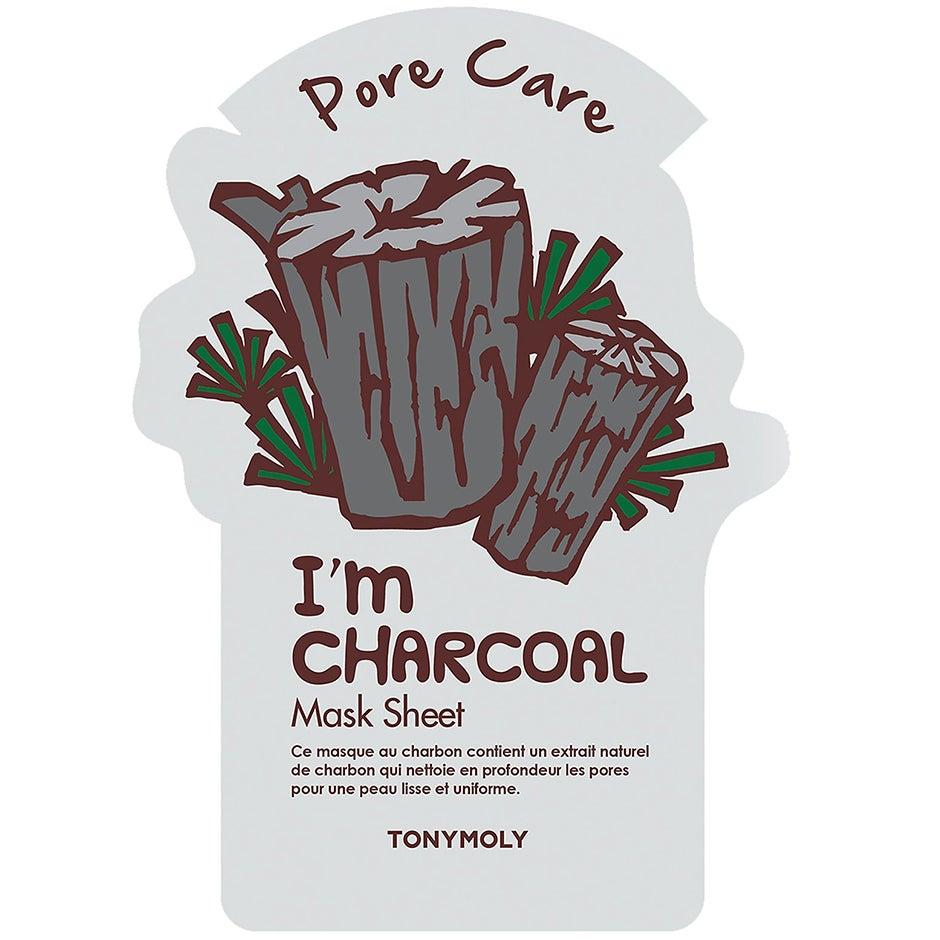 I Am Charcoal Mask Sheet Tonymoly K-Beauty