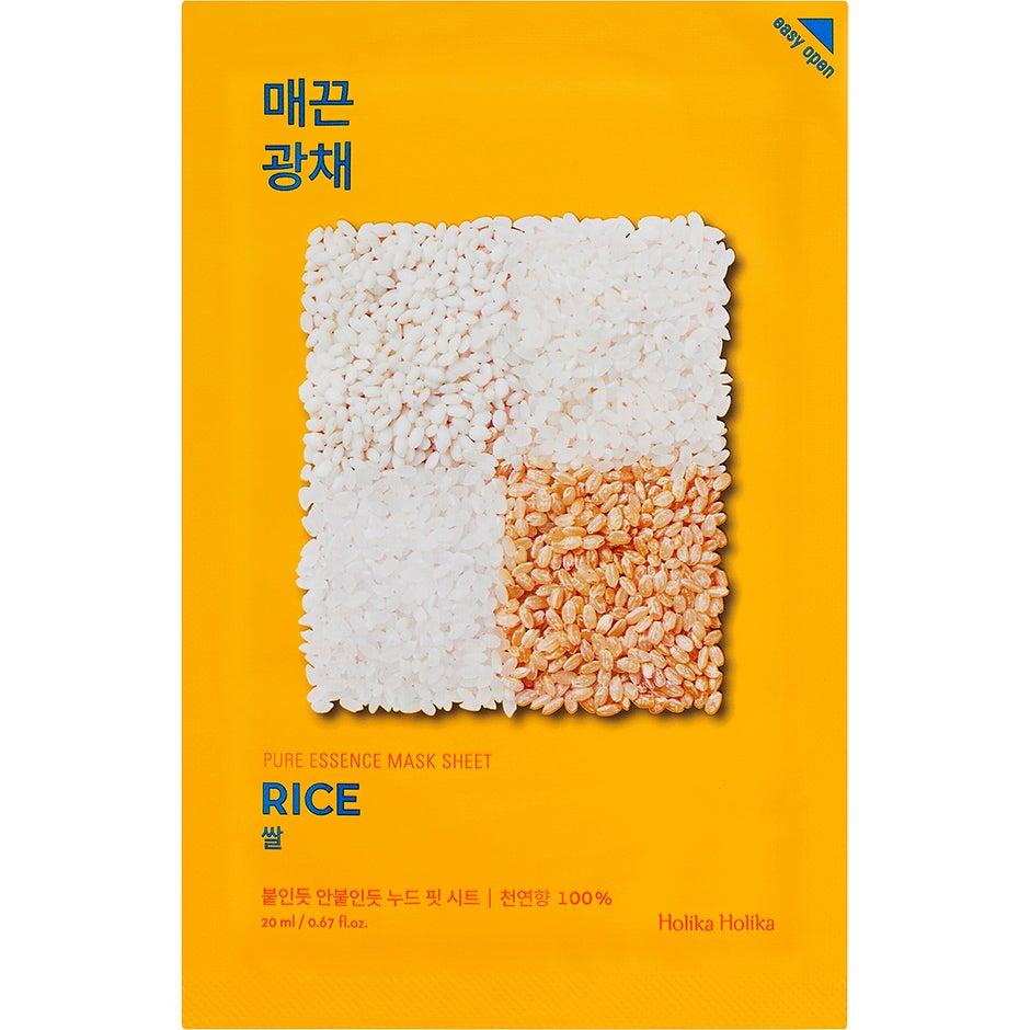Holika Holika Pure Essence Mask Sheet – Rice Holika Holika K-Beauty