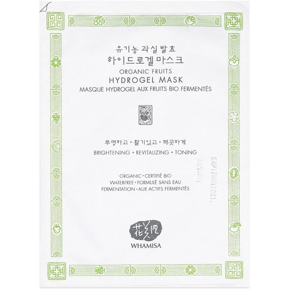 Whamisa Organic Fruits & Tomato Hydrogel Mask 33 g Whamisa Skincare K-Beauty